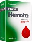 Hemofer tablett 100 st