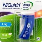NiQuitin, komprimerad sugtablett 4 mg 20 st