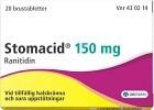 Stomacid, Brustablett 150 mg 20 st