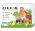 Attitiude Junior ekologiska blöjor (12+ kg) 22 st