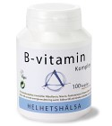 Helhetshälsa B-vitamin Komplex 100 kapslar