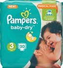 Pampers BabyDry S3 5-9 kg 30 st