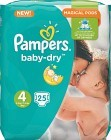 Pampers BabyDry S4 8-16 kg 25 st