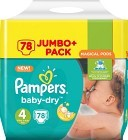 Pampers BabyDry S4 8-16 kg 78 st