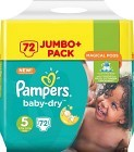Pampers BabyDry S5 11-23 kg 72 st