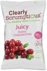 Clearly Scrumptious Juicy Dried Cranberries 30g
