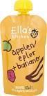 Ella's Puré Äpple & Banan 120g