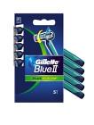 Gillette Blue 2 Plus Slalom Engångshyvlar 5 st