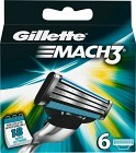 Gillette Mach3 rakblad 6 st