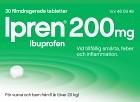 Ipren, filmdragerad tablett 200 mg 30 st