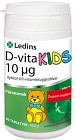 Ledins D-vita Kids 10 µg 90 tabletter