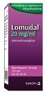 Lomudal, ögondroppar, lösning 20 mg/ml 13,5 ml