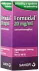 Lomudal, ögondroppar, lösning 20 mg/ml 5 ml
