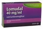Lomudal, ögondroppar, lösning i endosbehållare 40 mg/ml 60 x 1 dos(er)