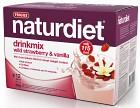 Naturdiet Drinkmix Smultron & Vanilj 12 portioner