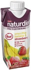 Naturdiet Laktosfri Smoothie Banana & Strawberry 330 ml