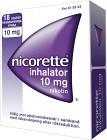 Nicorette Inhalator, inhalationsånga, vätska 10 mg 18 st