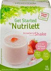 Nutrilett Quick Weightloss Shake Strawberry 15 påsar