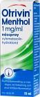 Otrivin Menthol nässpray, lösning 1 mg/ml 10 ml