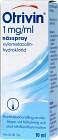 Otrivin, nässpray, lösning 1 mg/ml 10 ml