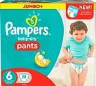 Pampers Baby-Dry Pants S6 16+ kg Jumbopack 58 st