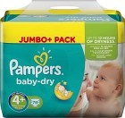 Pampers Baby-Dry S4+ 9-20 kg 76 st