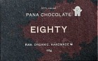 Pana Raw Chocolate Eighty (80%) 45 g