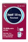 Panodil, pulver till oral lösning i dospåse 500 mg 12 st
