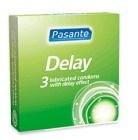 Pasante kondom Delay/Infinity 3-pack