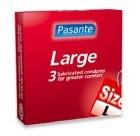Pasante kondom Large 3-pack