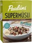 Pauluns Supermüsli Kakao, Kokos & Hallon 500g