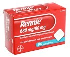 Rennie, tuggtablett 680 mg/80 mg 96 st
