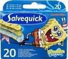 Salvequick SvampBob 20 st