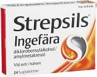 Strepsils Ingefära, sugtablett 24 st