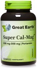 Great Earth Super Cal-Mag 300 mg 300 mg, 120 kapslar