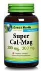 Great Earth Super Cal-Mag 300 mg 300 mg, 120 kapslar