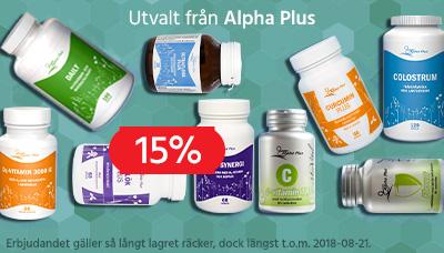 Alpha Plus hela VM 15% v. 32