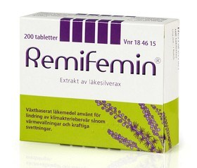 Bild på Remifemin 200 tabletter