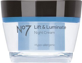 Bild på Boots No7 Lift & Luminate Night Creme 50 ml, 45+