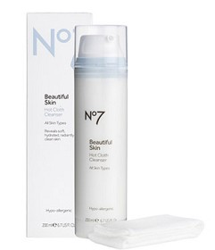 Bild på Boots No7 Beautiful Skin Hot Cloth Cleanser