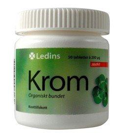 Bild på Ledins Krom 200 mikrogram 50 tabletter