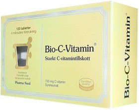 Bild på Bio-C-Vitamin 750 mg, 120 tabletter