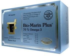 Bild på Bio-Marin Plus 500 mg, 180 kapslar