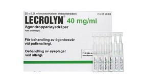 Bild på Lecrolyn ögondroppar endosbehållare 40 mg/ml 20 x 1 dos(er)
