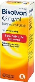 Bild på Bisolvon, oral lösning 0,8 mg/ml 125 ml