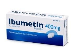 Bild på Ibumetin, tablett 400 mg 30 st