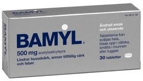 Bild på Bamyl, tablett 500 mg 30 st