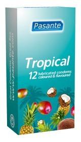Bild på Pasante kondom Tropical Flavours 12-pack