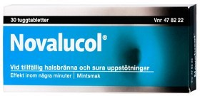 Bild på Novalucol, tuggtablett 30 st