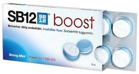 Bild på SB12 Boost Strong Mint tuggummi 10 st